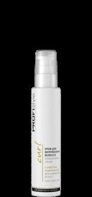 Крем для випрямлення волосся з ефектом ламінування